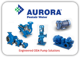 Aurora End Suction and Inline Split-Case Pumps