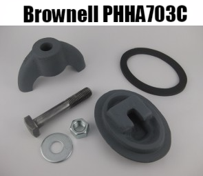 Brownell handhole plate assembly