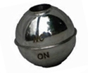 Round Domed Tubed Magnetic 316 SS Float