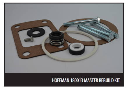 Replacement Master Seal Kit for ITT Hoffman / Domestic Pump 609PF /  PPI-27180013