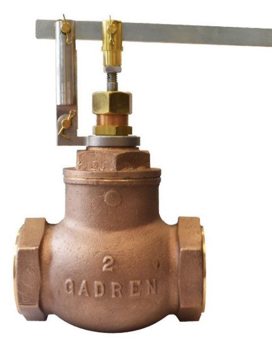 "Gadren Bronze Globe Lever Float Valve Cold Water - GCLS-V "" Valve Only"""