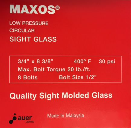 Low Pressure Maxos®  - Red Box (400°F Max Temp.)