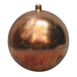 Round Copper Float with External Connector