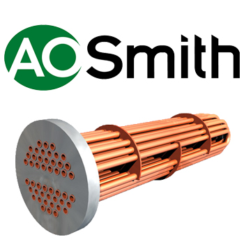 AO Smith Steam to Liquid Replacement Tube Bundle