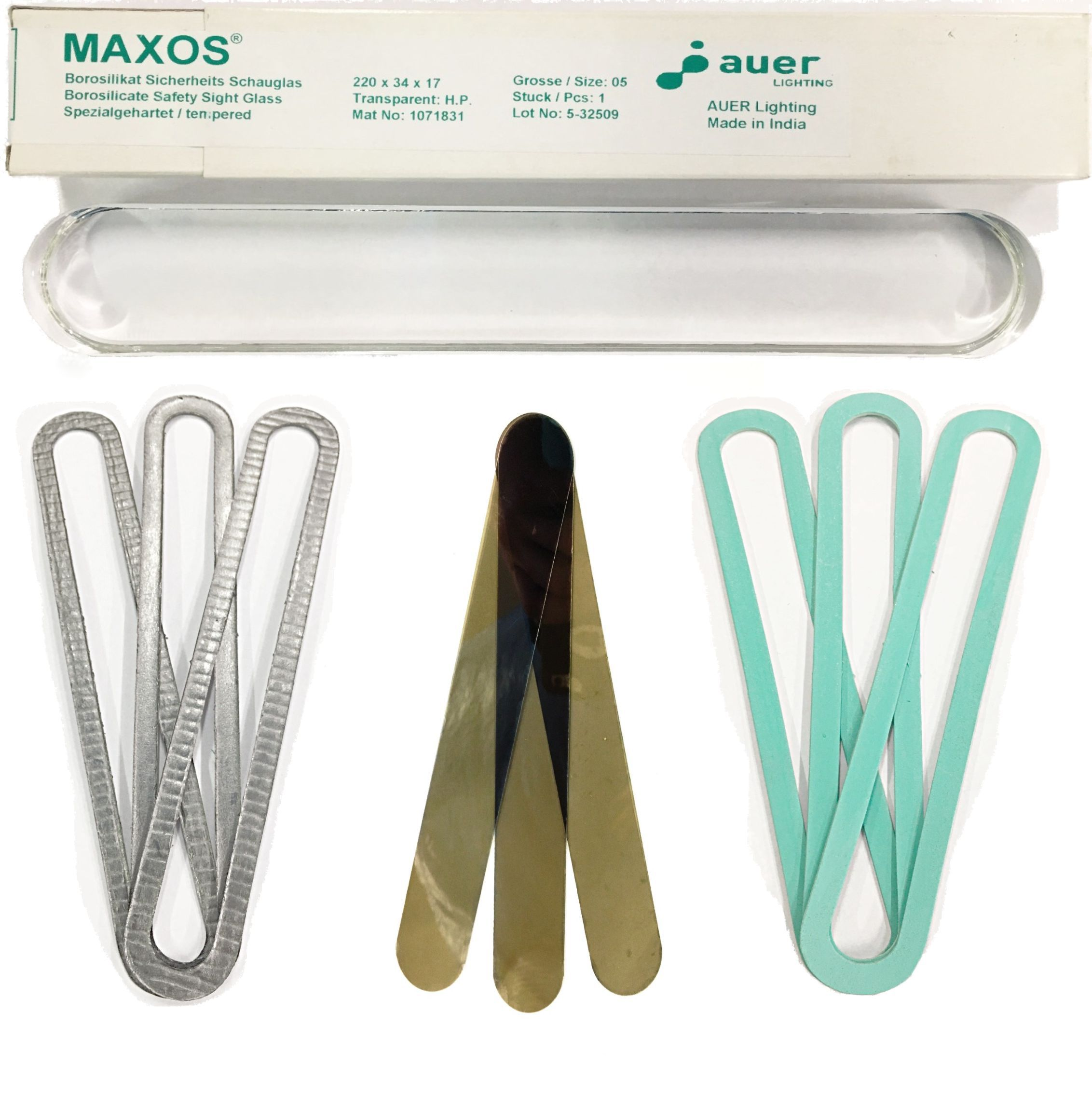 Schott / Maxos Transparent & Reflex Flat Glass Replacement Kits