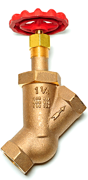 United Brass Y-Blow Off Valve