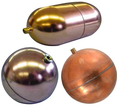 Copper Round & Oblong Replacement Floats