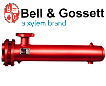 Bell & Gossett Steam to Water U-Tube Heat Exchanger