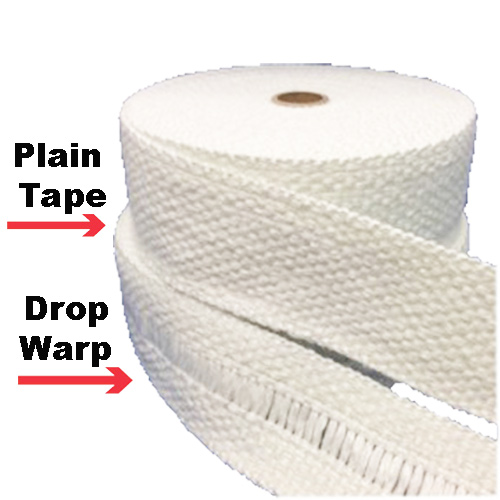 Industrial Grade Woven Boiler Plain & Drop Warp Tape