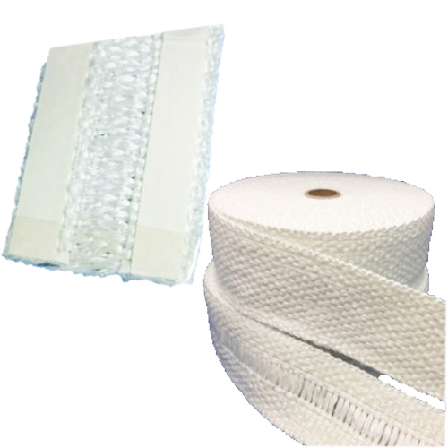 Industrial Grade Woven Boiler Plain & Drop Warp Tape with PSA ( Peel off Sticky Backing)
