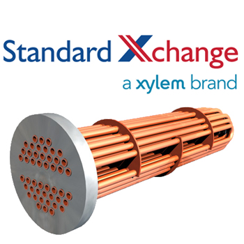 Standard Xchange B300S ITT Standard Steam to Liquid Tube Bundles