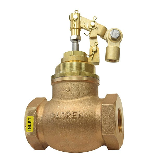 Gadren hot water valve