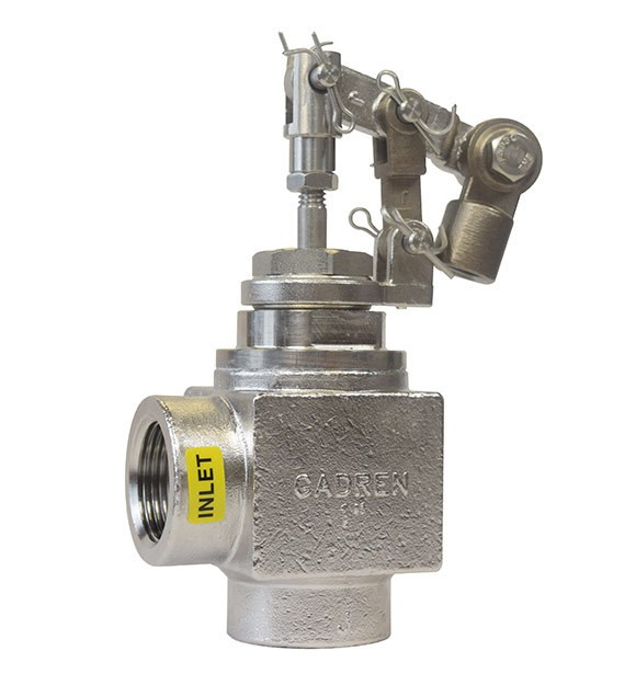 angle stainless float valve