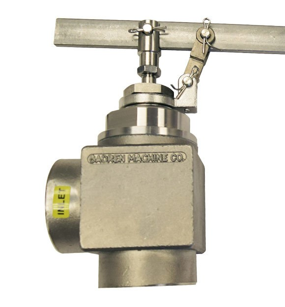 Gadren Stainless Steel Lever Operated Angle Float Valve AHLS-SS