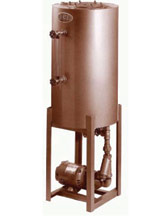 Rema Carbon Steel Vertical Boiler Return Units