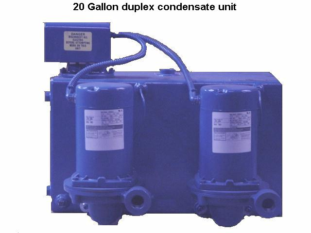 20 Gallon Boiler Feed