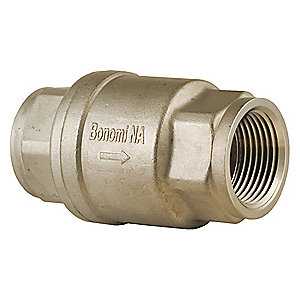 Bonomi Series S800 Stainless Steel In-Line Check Valve