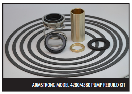 Armstrong Rebuild Kits for Models 4280 & 4380