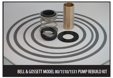 Bell & Gossett Rebuild Seal Kits & Shaft Sleeves