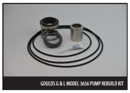Goulds G & L Rebuild Seal Kits