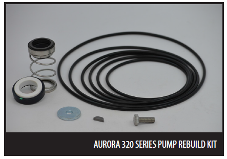 Aurora Mechanical Seal Kits for Models 321, 323, 324A & 326A Series
