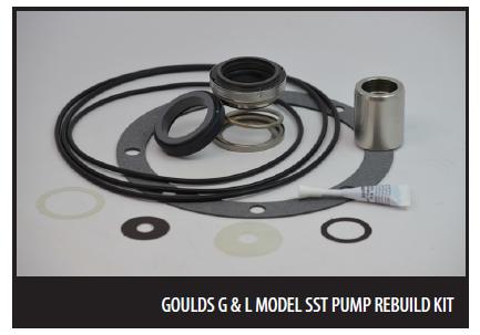 Goulds G & L SST Pump Rebuild Kits   Boilersupplies com