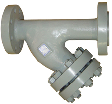 900# ANSI Flanged Cast Steel, Stainless Steel & Low Temp Carbon Steel Y-Strainers