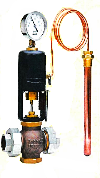 Trerice 91400 Series Self-Operating Temperature Regulator (Indicating)