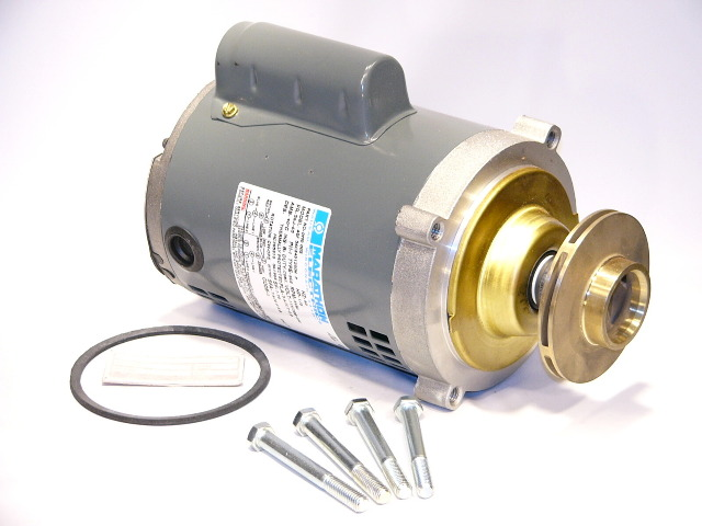 "Replacement OEM Pump & Motor for ""Watchman Series"" (Less Volute)"