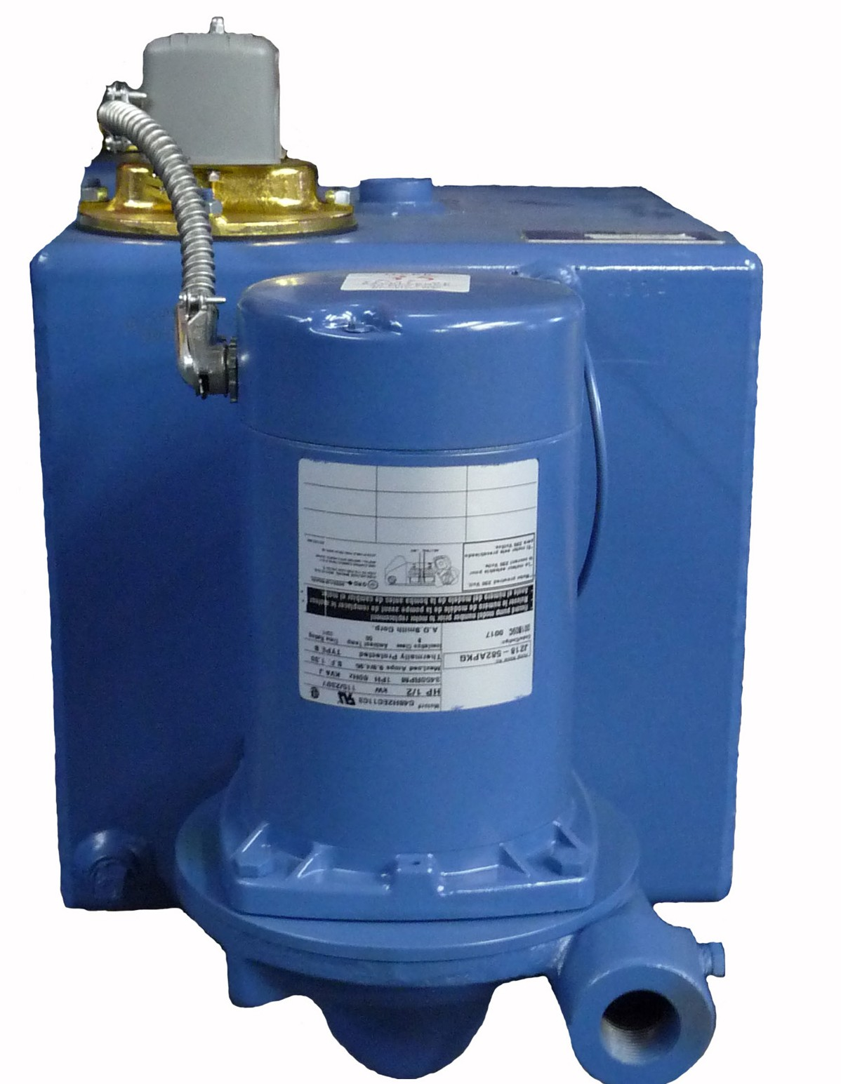 Airflow Pump 10 Gallon Condensate Unit