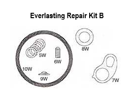 ac valve steam repair kit